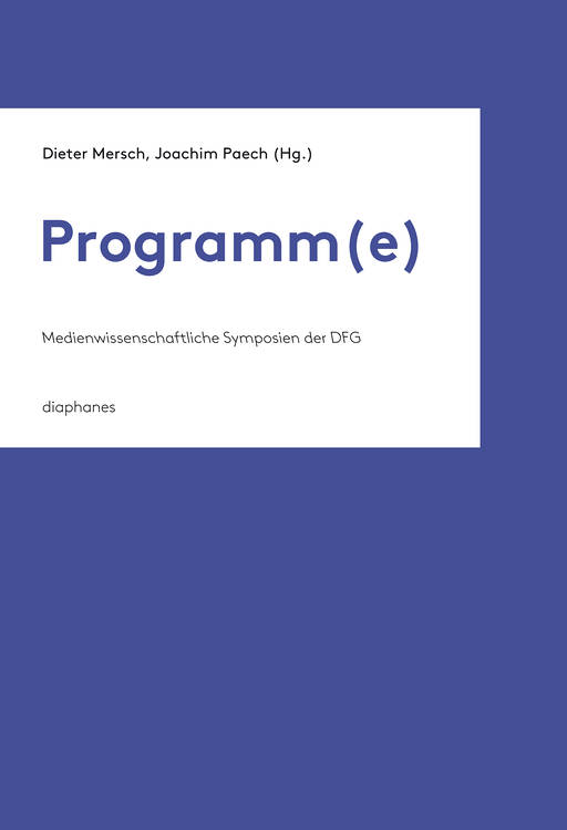 Ulrike Bergermann: Comparative (Media) Studies: Programmatische Un/Orte